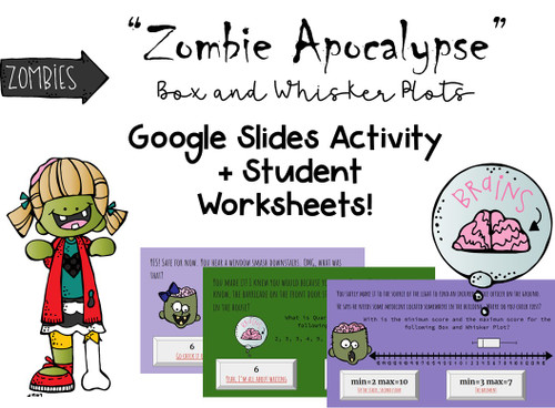 Volume of Cylinders, Spheres, Cones Digital Zombie Game for Google Slides
