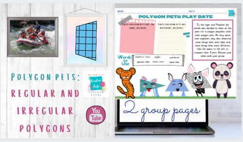 Polygon Pets: Regular and Irregular Polygons
