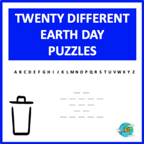 Earth Day Digital Letter Guess