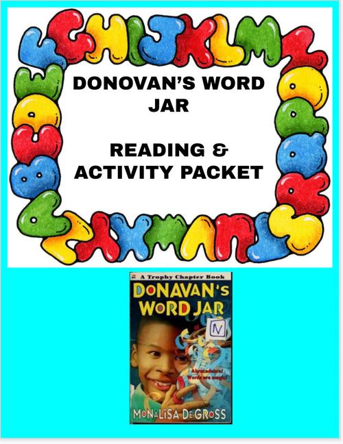 DONOVAN'S WORD JAR READING & ACTIVITY PACKET