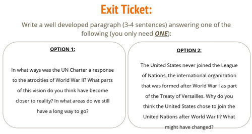 United Nations: 6 main parts and Preamble Analysis