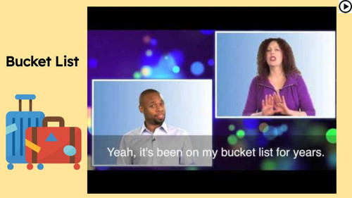 FREE Bucket List Figurative Language Reading Passage and Activities