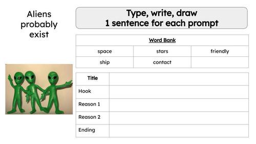 Persuasive Writing Prompt Volume 1