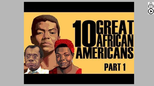 Great African Americans Part 1 Informational Text Reading Passage and Activities