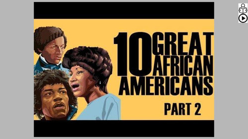Great African Americans Part 2 Informational Text Reading Passage and Activities