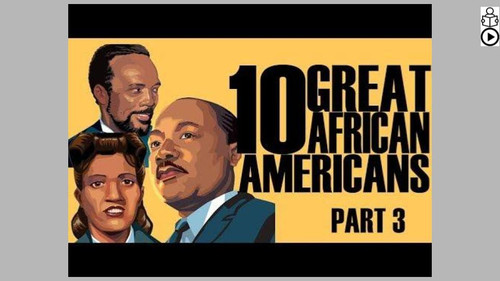 Great African Americans Part 3 Informational Text Reading Passage and Activities