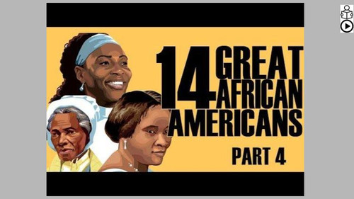 Great African Americans Part 4 Informational Text Reading Passage and Activities