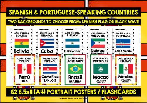 SPANISH & PORTUGUESE-SPEAKING COUNTRIES