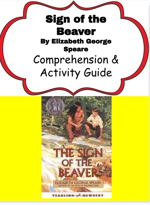 Sign of the Beaver Reading & Activity Packet
