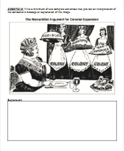 Imperialism Political Cartoon Analysis - Google Docs