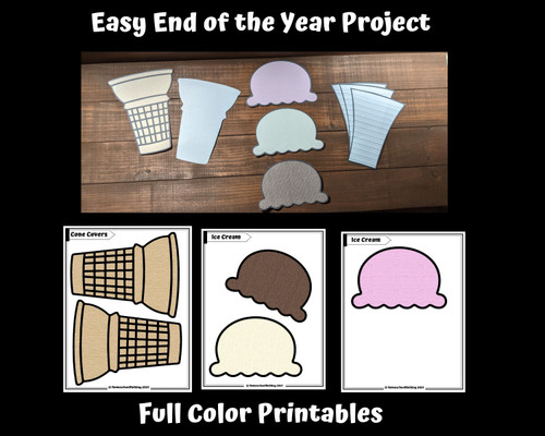 End of the Year Writing Freebie