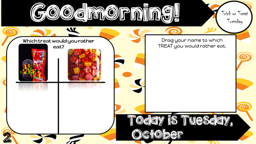 October Attendance Tracker Question of the Day Jamboard October