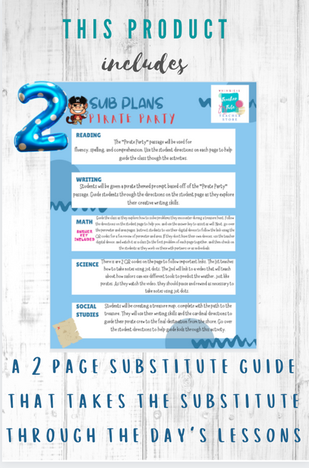 Pirate Party Sub Plans