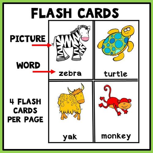 Beginning Sounds Flashcards Set 2