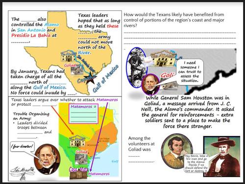 Texas History: The Alamo Falls