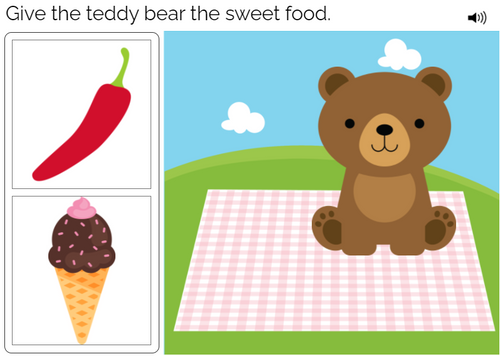 Modified Nouns - Level One - Interactive Deck - Teddy Bear Picnic - Boom Cards™