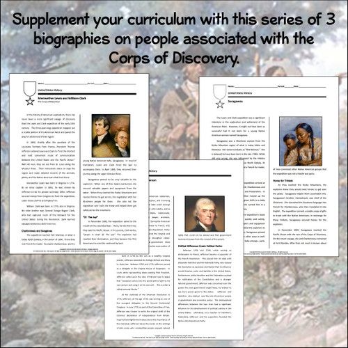 Biography Bundle: The Corps of Discovery (Distance Learning Option)