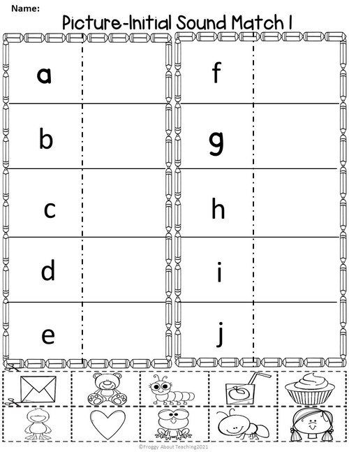 Letter Sound Recognition Activities