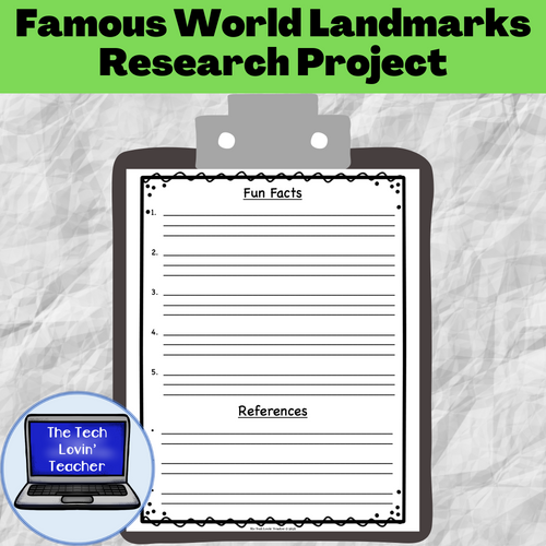 Famous World Landmarks Research Project