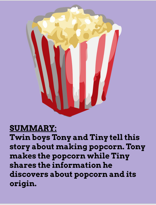 The Popcorn Book by Tomie dePaola Reading & Extension Activities