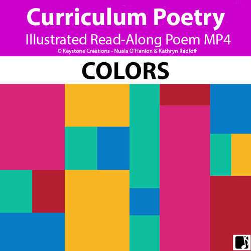 'COLORS' (Pre-K - 2) ~ Illustrated Curriculum Lesson Video