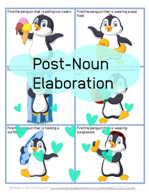 Post-Noun Elaboration