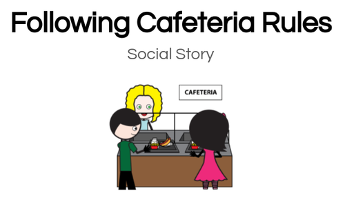 School Rules Social Stories Set for Special Education