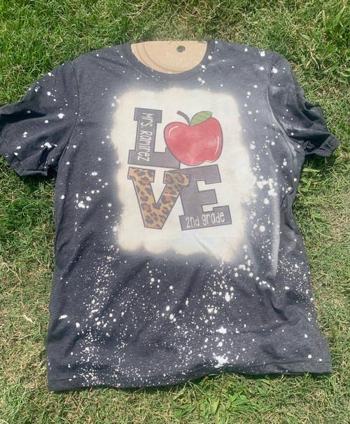 I Love Teaching Personalized Shirt