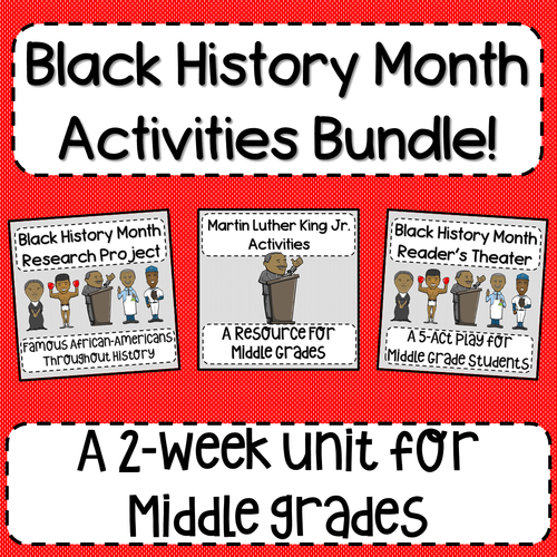 Black History Month Activities Bundle!
