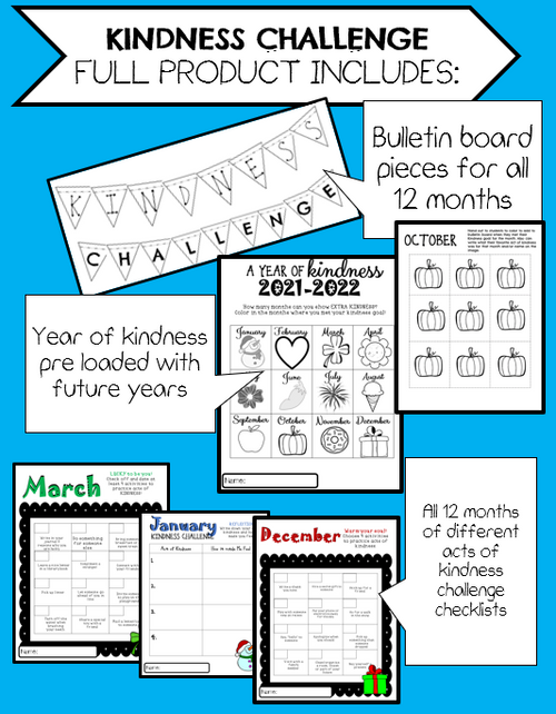 Kindness Challenge Full Year