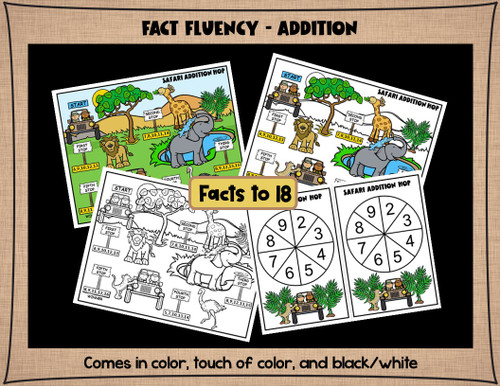 2nd Grade Math Games - Place Value, 2-digit and 3-digit Addition and Subtraction, and Fact Practice