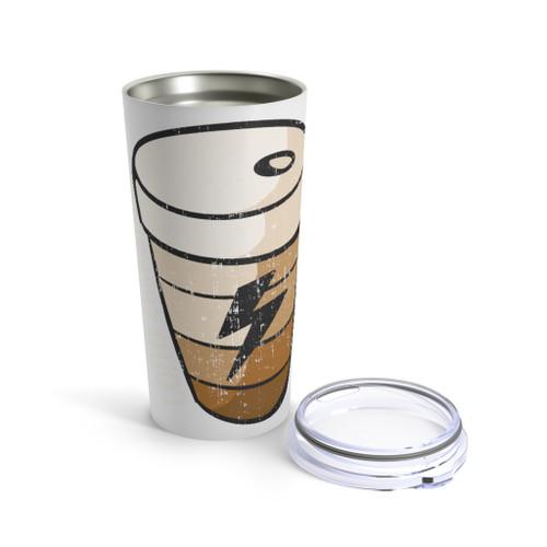 """""""Coffee Charging"""" 20 oz. Tumbler"""