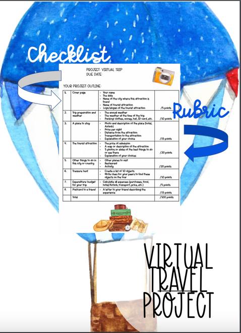 English Project: Virtual Vacation Project