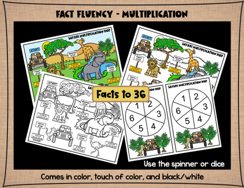 3rd Grade Math Games - Multiplication Fact Practice, Place Value, Rounding, 3-digit Addition and Subtraction