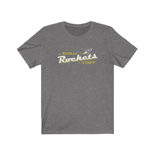 """""""Reskin Rockets Staff"""" Crew Neck Unisex T-Shirt"""