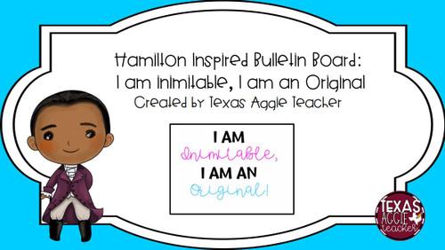 Hamilton Bulletin Board Bundle