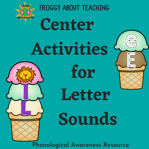 Centers for Letter Sounds