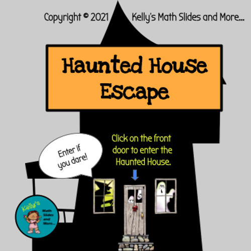 Halloween Escape Room - Editable for any Topic