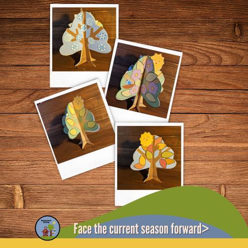 4 Seasons Tree Craft