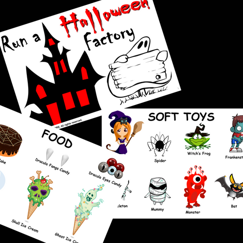 Percentages Project Based Learning Run a Halloween Factory | Math PBL Enrichment