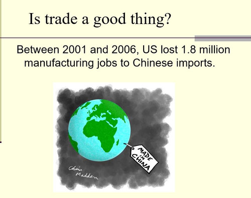 Comparative Advantage and Foreign Trade