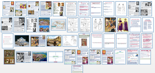 Justinian and Theodora + Assessments