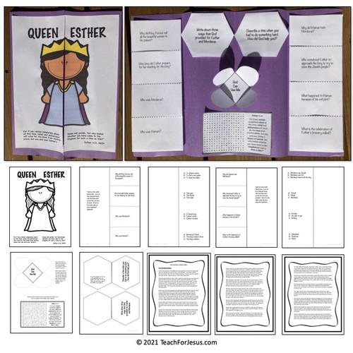 Queen Esther Sunday School Craft