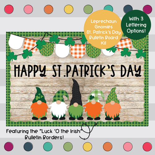BUNDLE St. Patrick's Day Bulletin Board