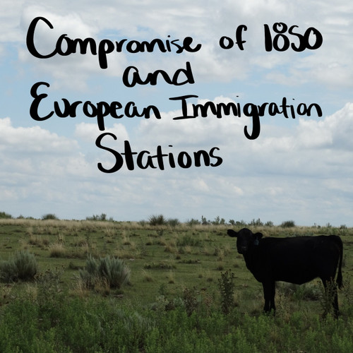 Compromise of 1850 and Texas Immigration Stations