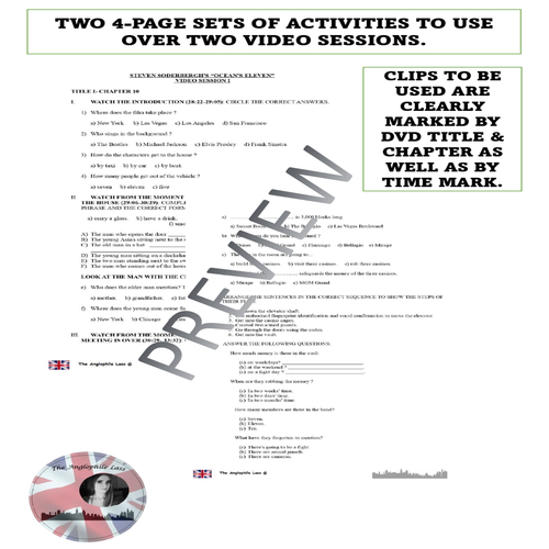 Movie worksheets | Grammar and Vocabulary Practice |