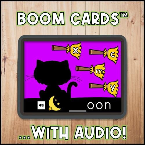 Halloween Beginning Sounds   Initial Sounds Boom Cards™