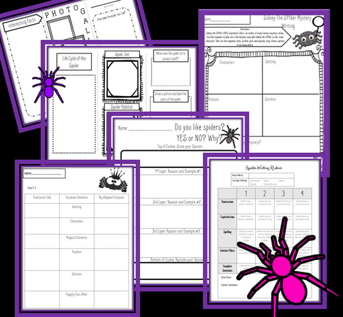 Fall Fun Math and Writing Bundle