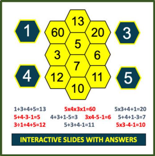 Mental Math Games: Grade 3 and 4 (Set 2)