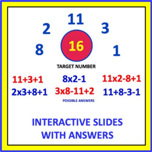 Mental Math Games: Grade 3 and 4 (Set 3)